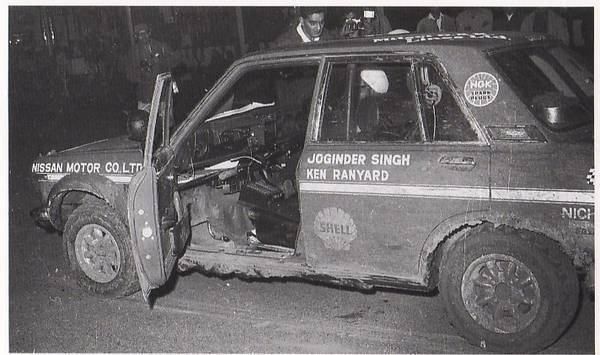 East African Safari Rally 1970 Joginder Singh - Ken Ranyard